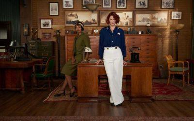"Lauren Lee Smith stars in the Female Detective Drama ""Frankie Drake Mysteries"""