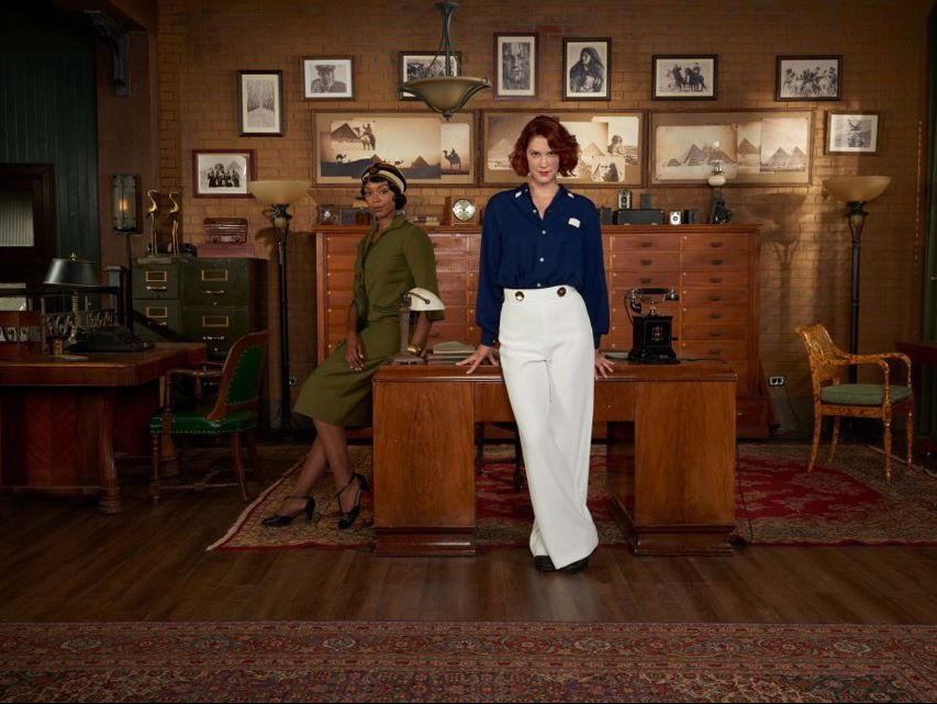 "Lauren Lee Smith stars in the Female Detective Drama ""Frankie Drake Mysteries"""